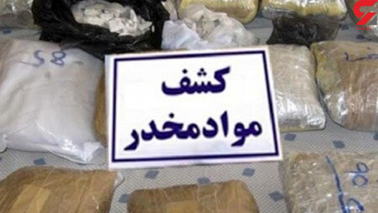 محموله 200 کیلویی مواد مخدر در یزد توقیف شد