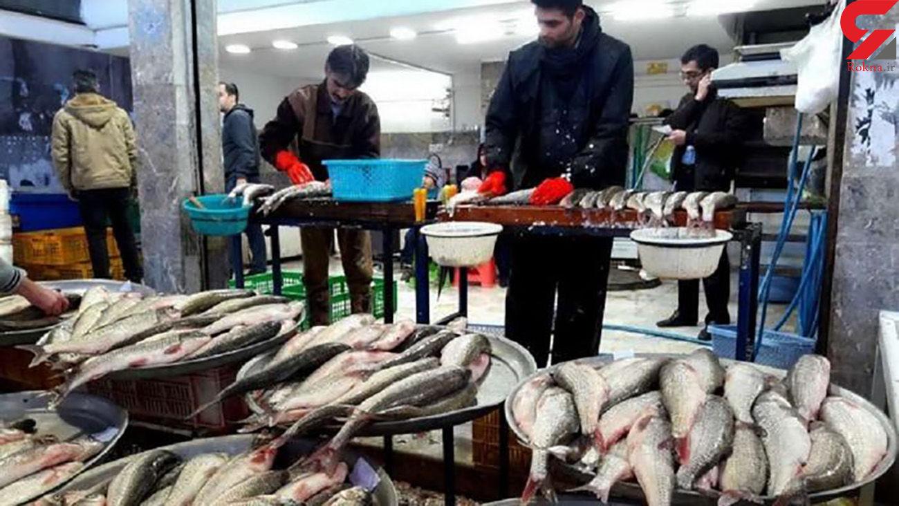 قیمت ماهی های پرفروش بازار اردیبهشت 1400