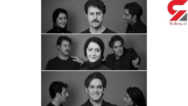 زن و شوهر هنرمند همبازی رحمت شاسی شدند +عکس