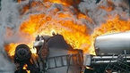 انفجار تانکر قیر در گنبدکاووس ۳ مصدوم بر جای گذاشت