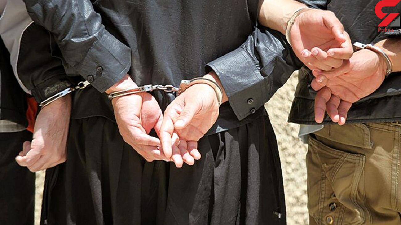 گوشی قاپان مشهدی در دام پلیس