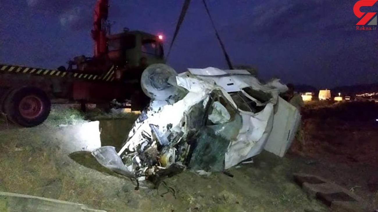 پراید 2 تن را به کشتن داد / در جاده اصفهان رخ داد