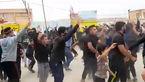 تشییع جنازه کرونایی با حضور صدهها شرکت کننده بدون ماسک در منیوحی آبادان