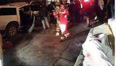 عکس های جسد مرد تهرانی در صحنه وحشتناک تصادف بزرگراه امام علی (ع) + جزییات