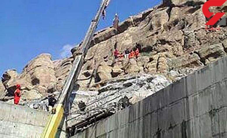 مرگ تلخ یک کارگر در پروژه آزاد راه تهران - شمال