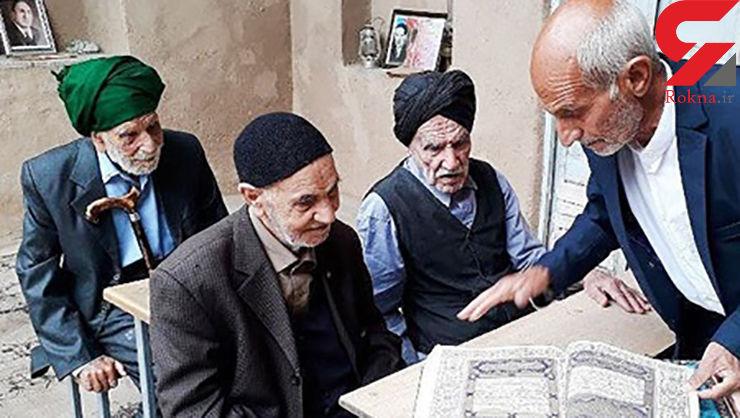 عکس باورنکردنی/ دیدار 3 همکلاسی پس از ۹۱ سال در یزد