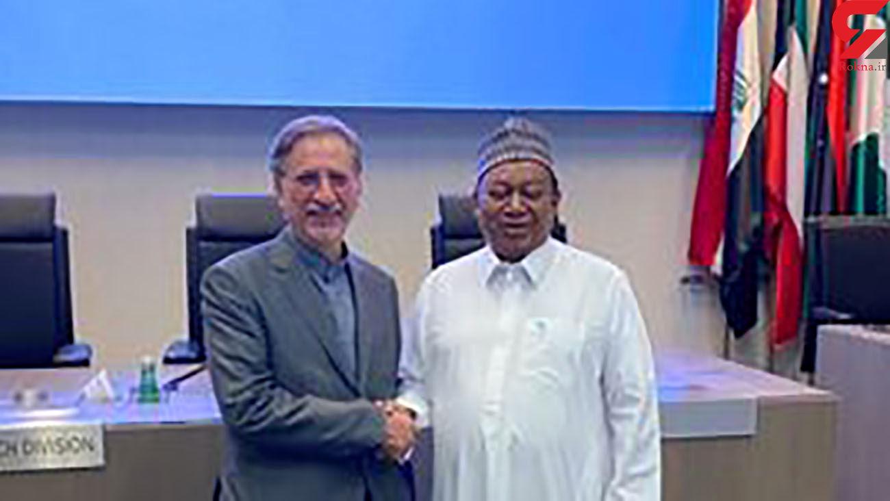 دیدار معاون وزیر خارجه ایران با دبیرکل اوپک