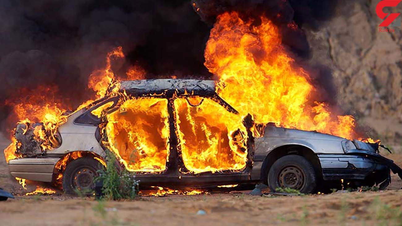 عامل آتش سوزی عمدی خودرو در سوادکوه دستگیر شد