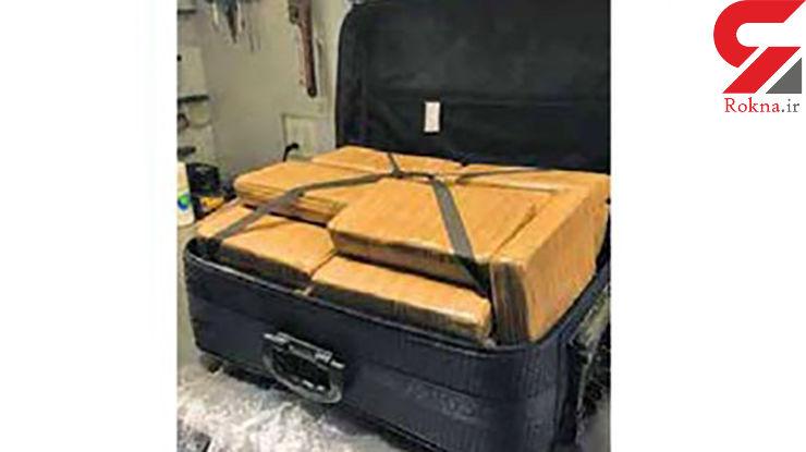 این چمدان فرودگاه را به هم ریخت! + عکس