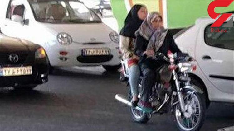 صدور گواهینامه موتورسیکلت برای بانوان پذیرفته نشد
