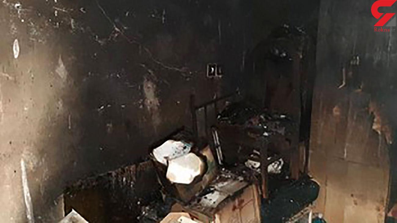 نجات جان 3 اصفهانی در آتش سوزی منزل