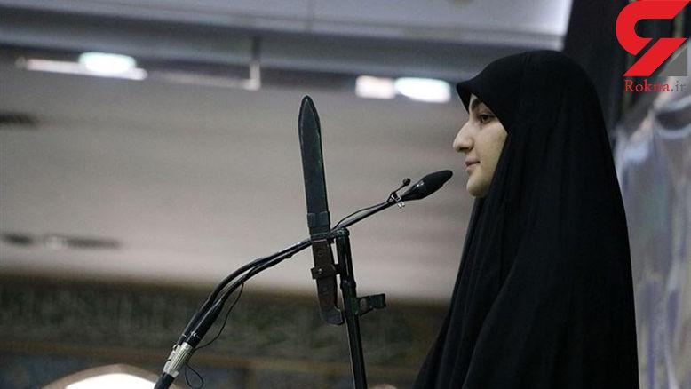 فیلم / آخرین عهد دختر سردار شهید سلیمانی با مردم