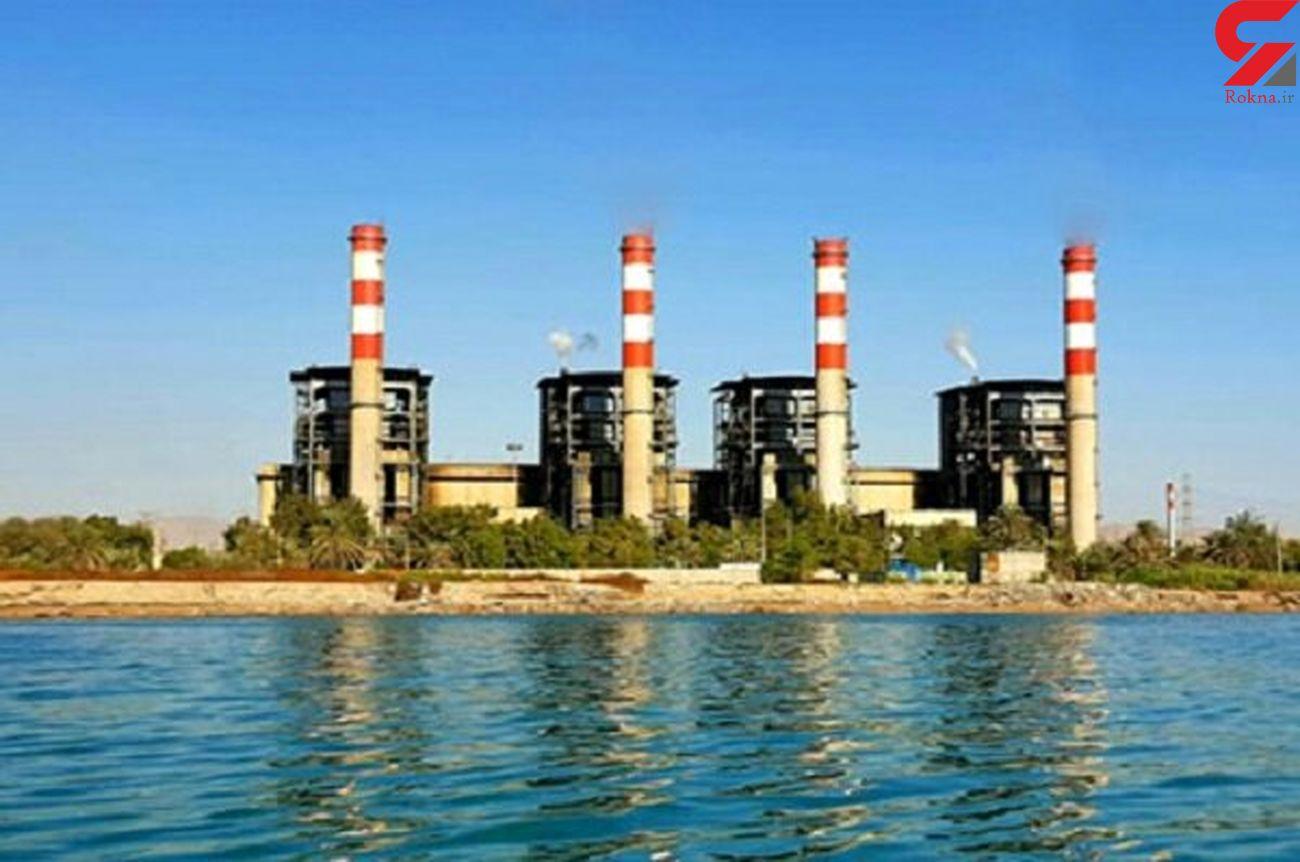 تولید برق مطمئن و پایدار در نیروگاه بندرعباس