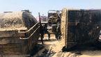 راننده و کمک راننده تانکر در آتش سوختند / در چابهار