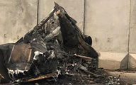 جدیدترین عکس ها از داخل پایگاه عین الاسد بعد از شلیک موشک های ایران