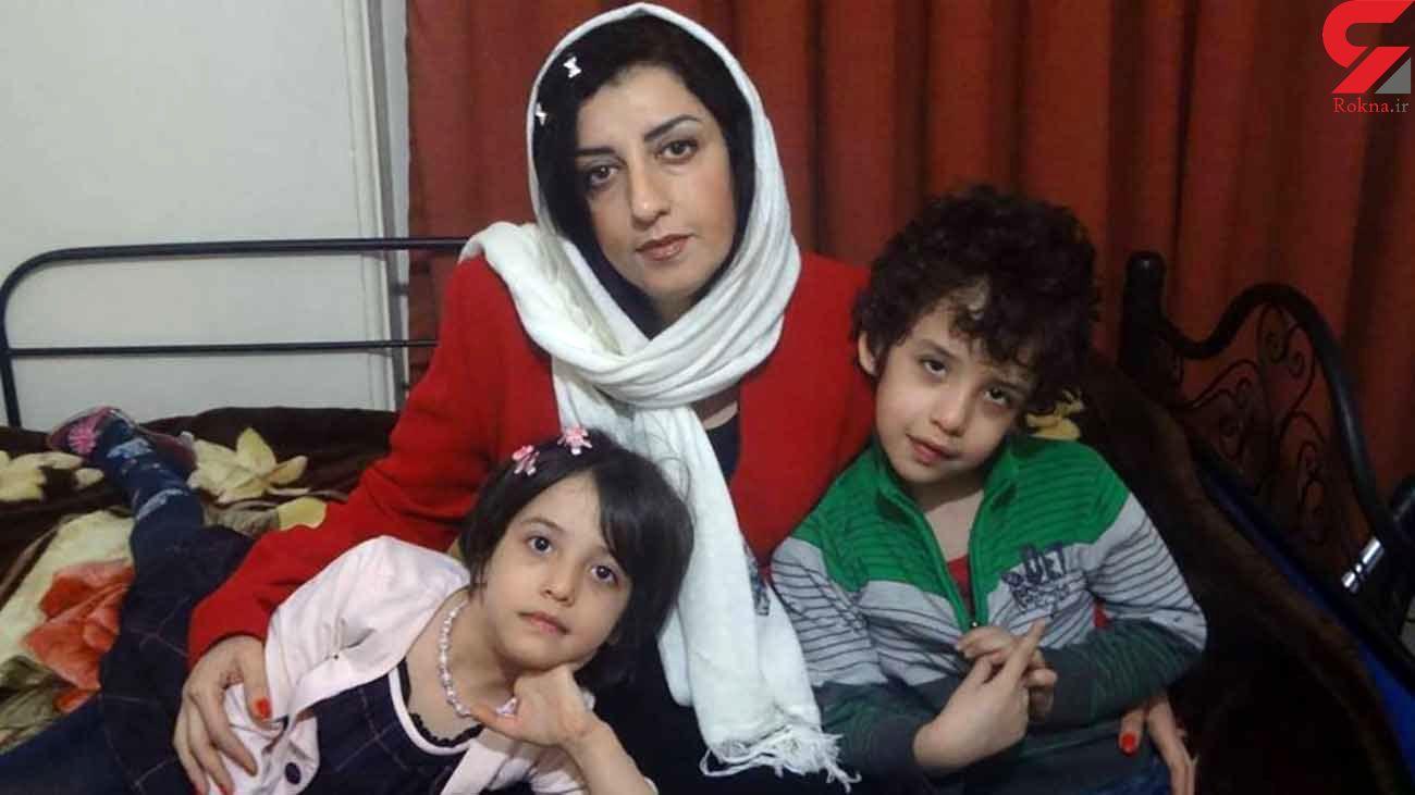تقاضای انتقال نرگس محمدی از زندان زنجان به تهران