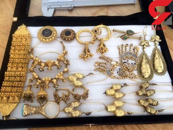 کشف ۶۵ میلیارد ریال طلای سرقتی در بوشهر / 13 باند حرفه ای متلاشی شدند