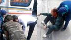 حمله خونین داماد  به پدر و مادرزنش در خیابان های نیشابور+عکس