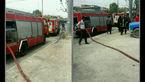 آتش سوزی در متروی مشهد+ عکس