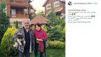همسر شهاب حسینی به زیبایی تولد را تبریک گفت + عکس