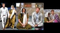 پوشش جالب مگان مارکل هنگام بازدید از یک مسجد+عکس