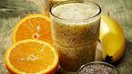 اسموتی سوپر لوکس برای صبحانه/مخلوط موز و پرتقال