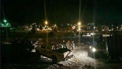 تصادف زنجیره ای مرگبار در محور نیشابور به مشهد +عکس