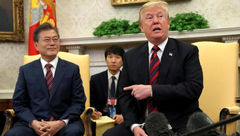 هواپیمای رئیس جمهوری کره جنوبی در فهرست سیاه ترامپ