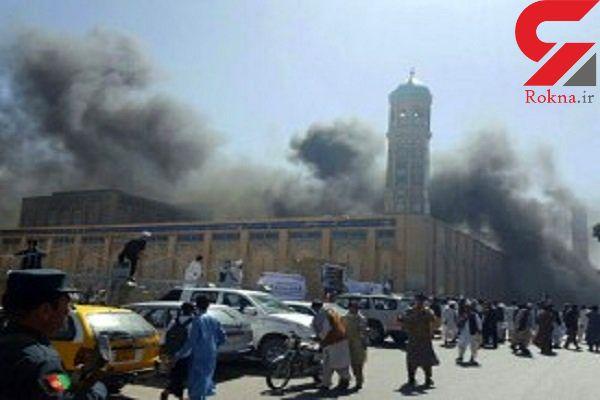 ۷ کشته و ۹۰ زخمی در حمله با خودرو بمبگذاری شده در افغانستان