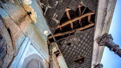 ویرانی هتل تاریخی اصفهان+عکس