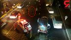 خودکشی مرد قوی هیکل در بزرگراه امام علی(ع)+فیلم و عکس