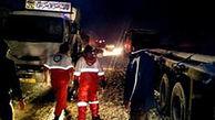 تصادف مرگبار در اتوبان زنجان - قزوین