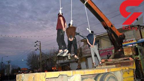 اعدام 3 تبهکار در میدان 7 تیر یاسوج + عکس و جزئیات