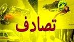 تصاف پراید و پژو در آزاد راه ساوه_ تهران با 5 مصدوم
