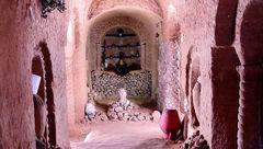 این مرد به عشق همسرش یک غار زیرزمینی 280 متری ساخت