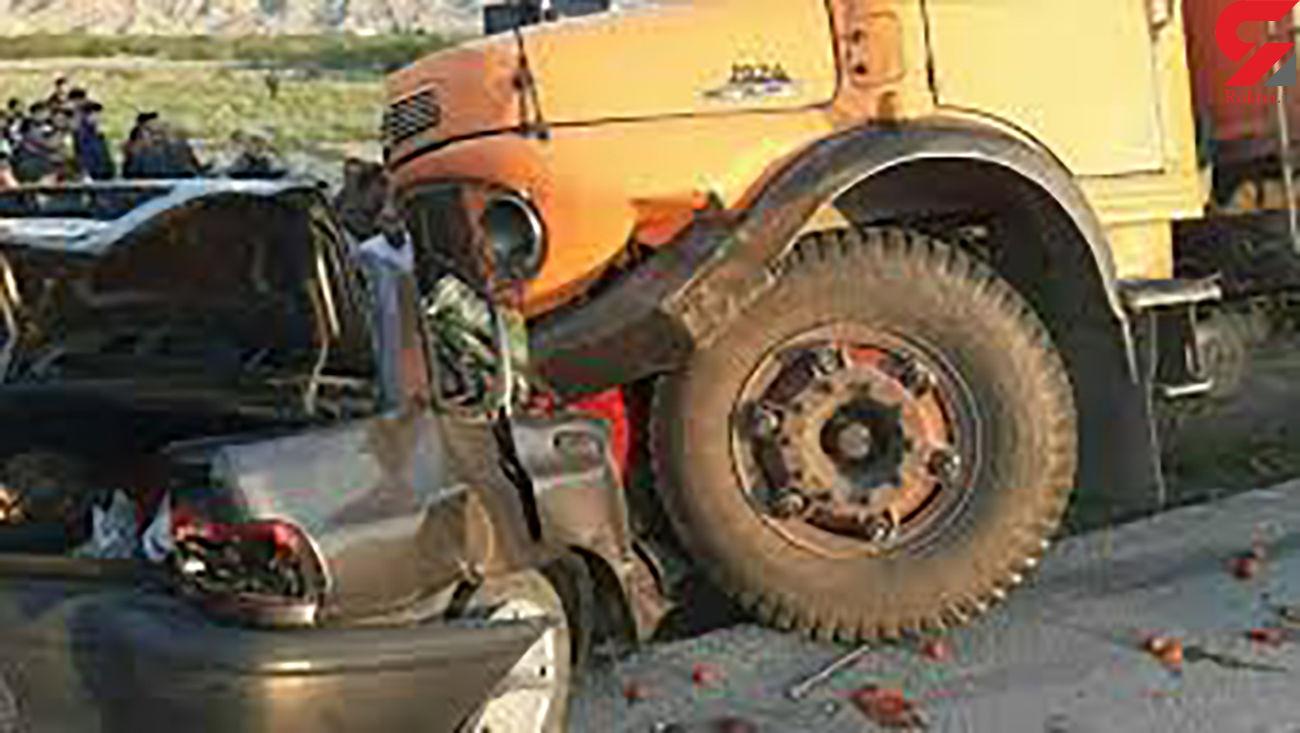 تصادف رانندگی در زنجان با یک کشته