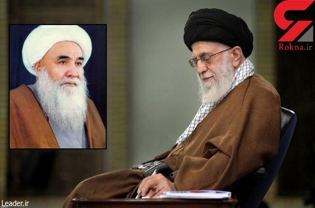 رهبر معظم انقلاب درگذشت آیت الله محقق کابلی را تسلیت گفتند