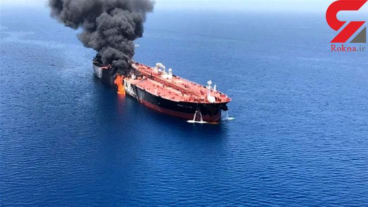 افشاگری مقام بلندپایه اماراتی درباره حادثه انفجار نفتکش ها در دریای عمان+عکس