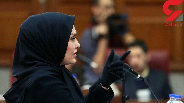 زنی که وکیل محمد علی نجفی شد + عکس