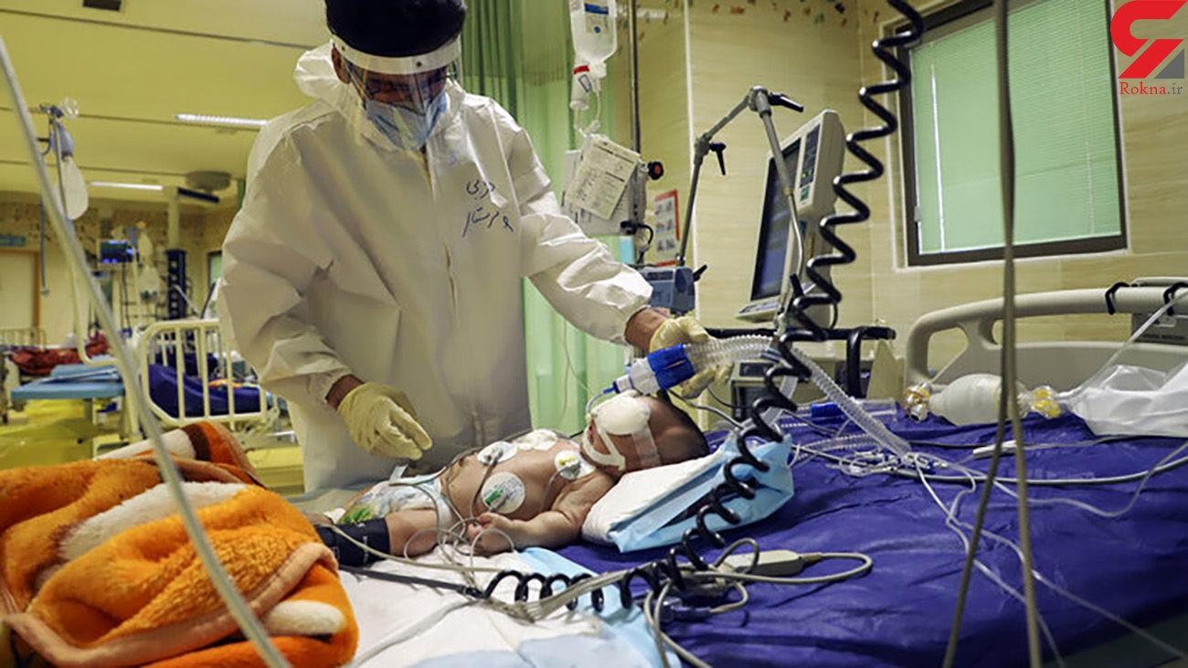 مرگ کرونایی 16 کودک خوزستانی در  بیمارستان ابوذر