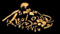 فسیل قدیمی ترین جسد انسان کشف شد+ عکس