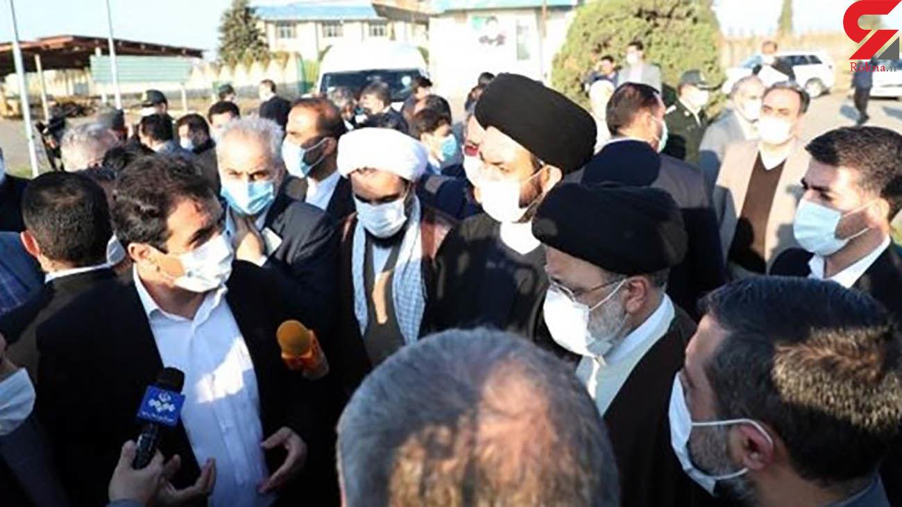بازدید رئیسجمهور از عملیات پایاب سد خداآفرین