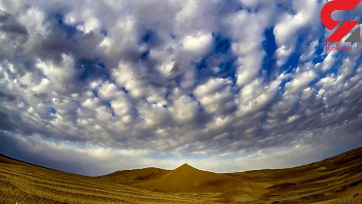 کویر زیبای ورزنه در اصفهان
