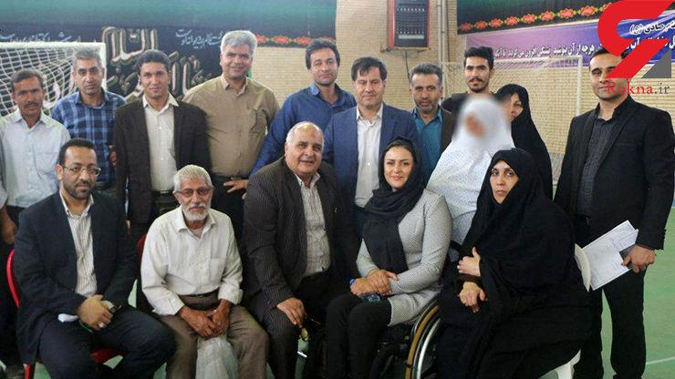 آزادی یک زن زندانی کرمان با کمک 130 میلیونی زن پارالمپیکی+عکس