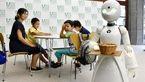 این  روبات با شکل و شمایل زنانه در کافی شاپ کار می کند! + عکس