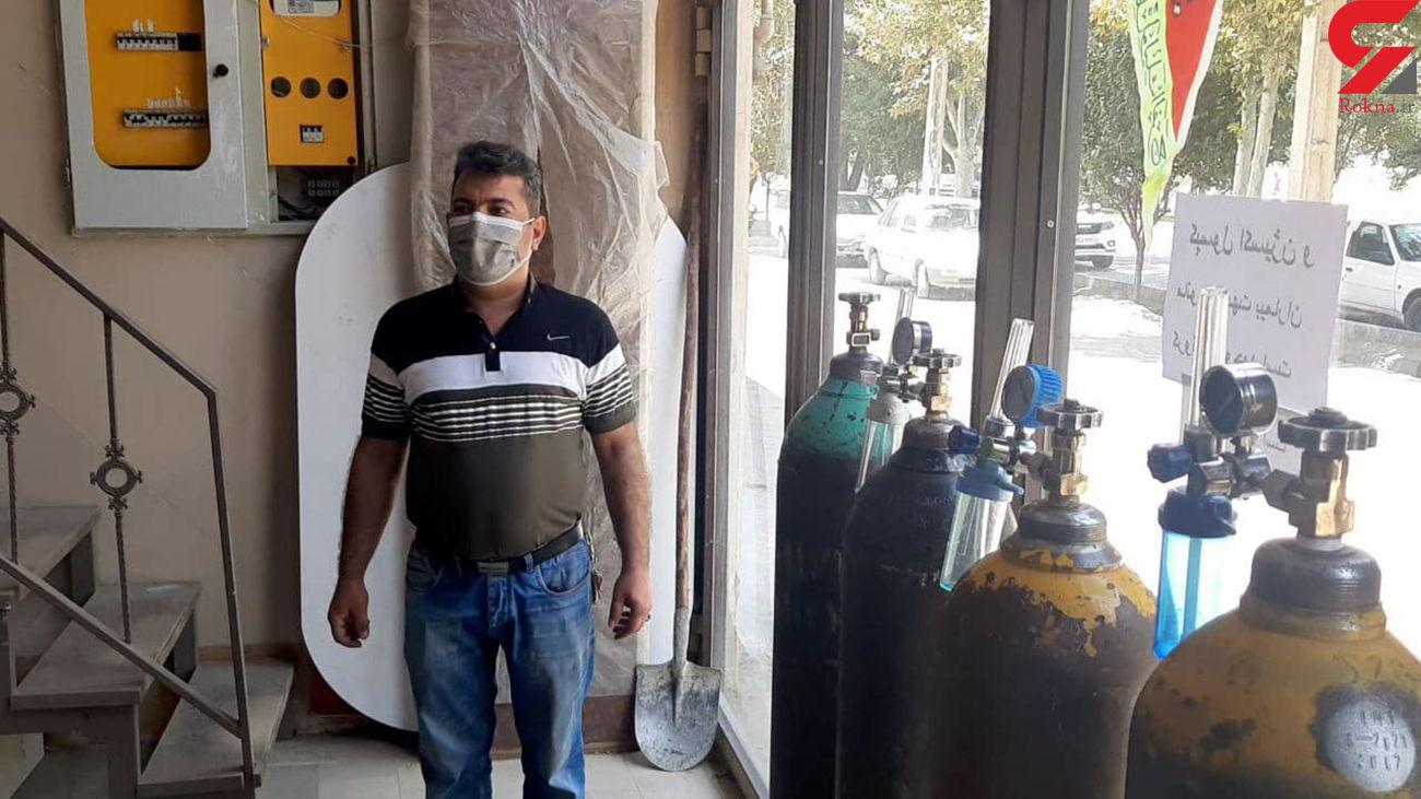 مرد کابینت ساز درس غیرت داد/ هدیه نجات بخش برای کرونایی ها + فیلم و عکس