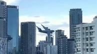 فیلم عبور جالب هواپیمای نظامی از بین ساختمان های بلند / در استرالیا رخ داد