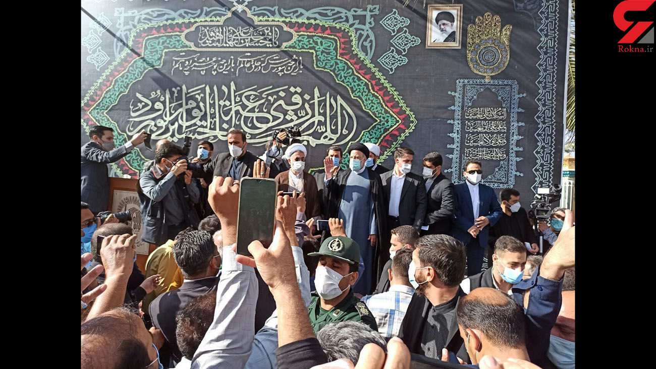 رییس جمهوری در امامزاده حسین بن موسی الکاظم(ع) طبس حضور یافت