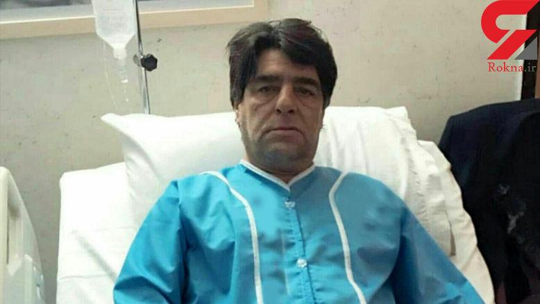 محسن رستگاری در بیمارستان بستری شد