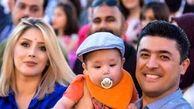 ترور مجری تلویزیون و زن و بچه زیبایش / در کردستان عراق رخ داد + عکس